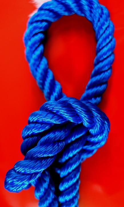 La cuerda de nylon bondage